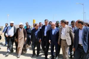 شرحی کوتاه بر سفر وزیر محترم راه وشهرسازی به استان همدان