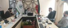 ملاقات نماینده مردم شریف بهار و کبودراهنگ با رئیس سازمان اوقاف و امور خیریه کشور