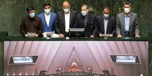 مراسم تحلیف ۶ نفر از منتخبان مردم در انتخابات میان دوره ای دوره یازدهم مجلس شورای اسلامی برگزار شد.