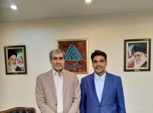 مذاکره نماینده مردم شریف بهار و کبودراهنگ با مدیرعامل صندوق کارآفرینی امید