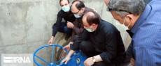 بهره برداری از طرح اضطراری آبرسانی به شهر همدان