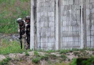 """تمرین """"جدی"""" آمریکا برای درگیری احتمالی با کرهشمالی"""